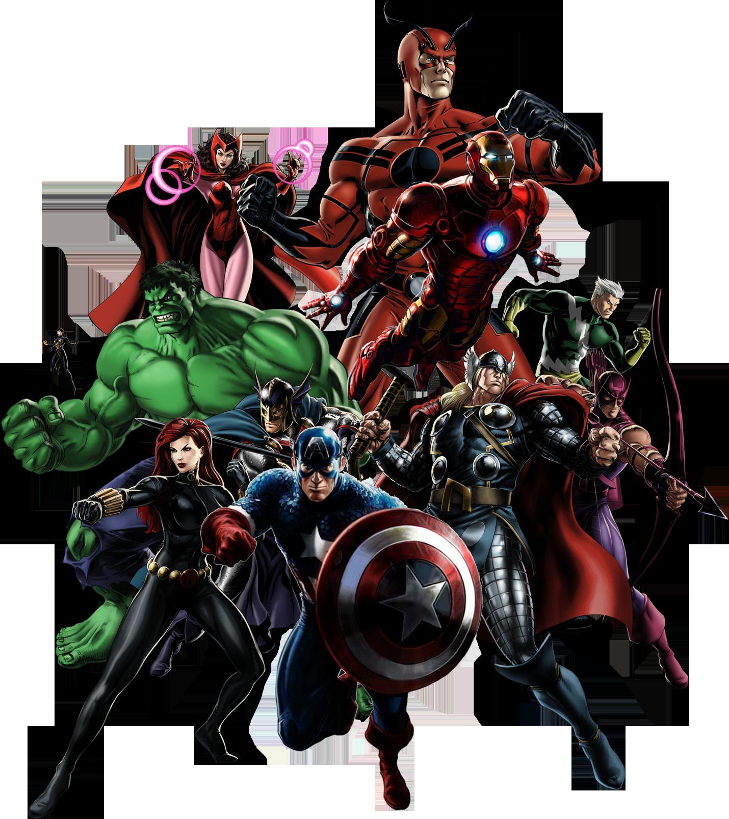Avengers PNG Clipart SVG Clip arts