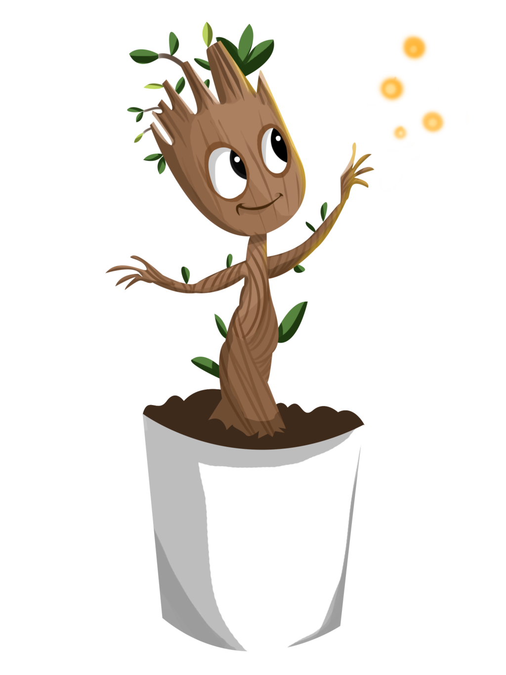 Baby Groot PNG Clipart SVG Clip arts