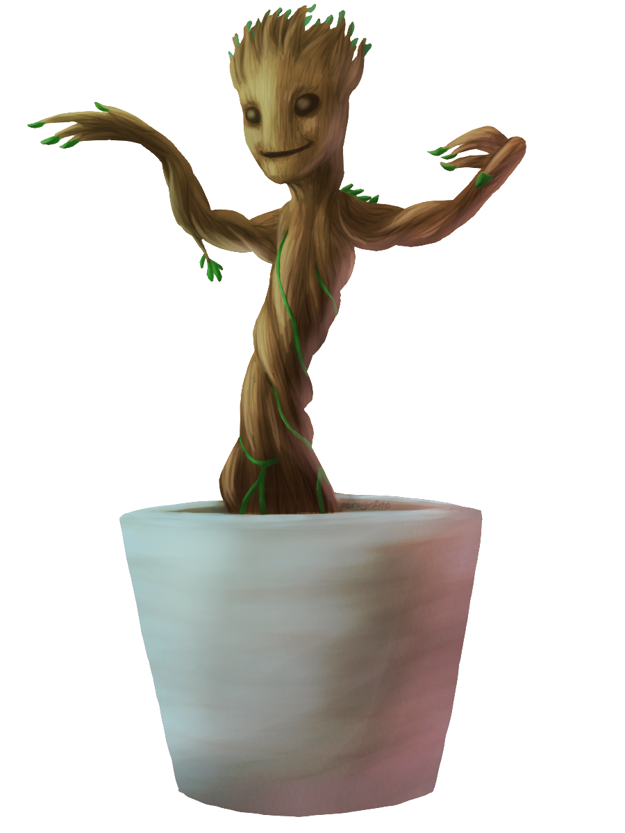 Baby Groot PNG HD SVG Clip arts