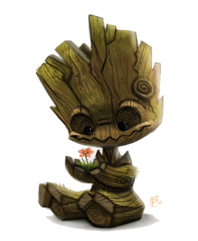 Baby Groot Transparent PNG SVG Clip arts