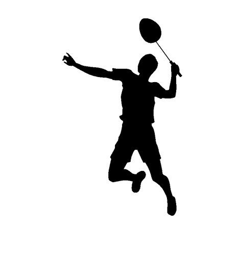 Badminton Player PNG File SVG Clip arts