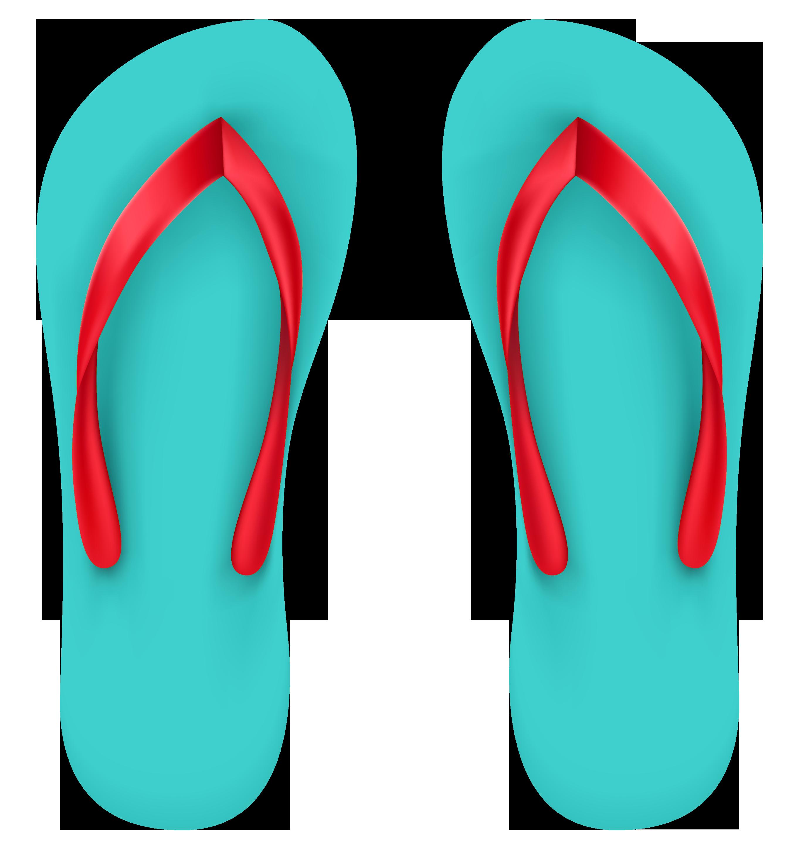 Beach Sandal SVG Clip arts