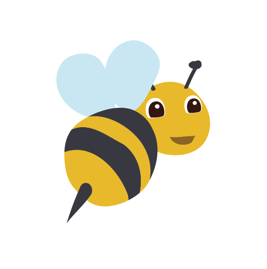 Bee Transparent PNG SVG Clip arts