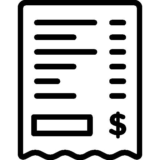 Bill PNG Transparent Image SVG Clip arts
