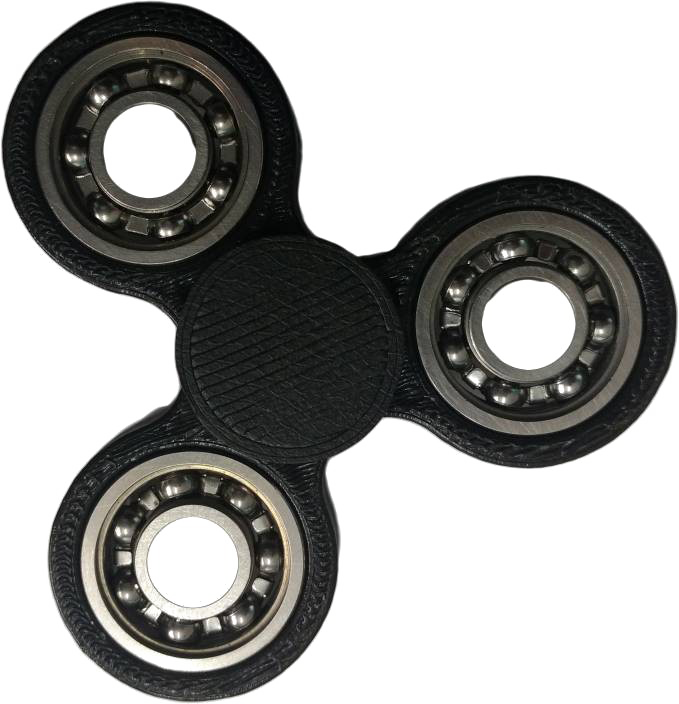 Black Fidget Spinner PNG Photos SVG Clip arts