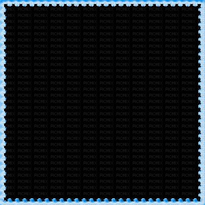 Blue Border Frame PNG File SVG Clip arts