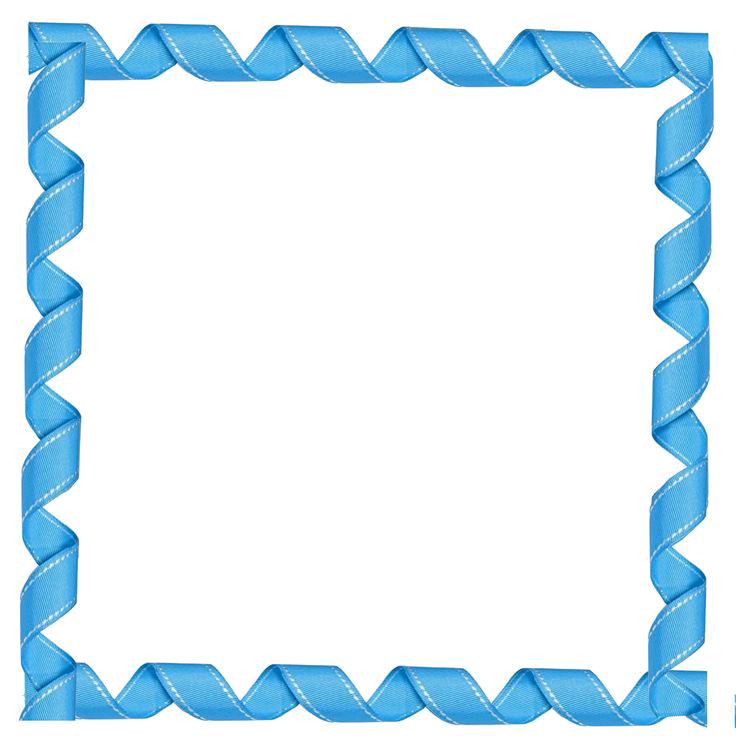 Blue Border Frame Transparent PNG SVG Clip arts