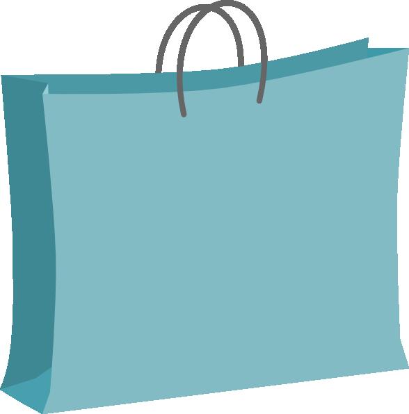 Blue Shopping Bag Clip Art PNG SVG Clip arts