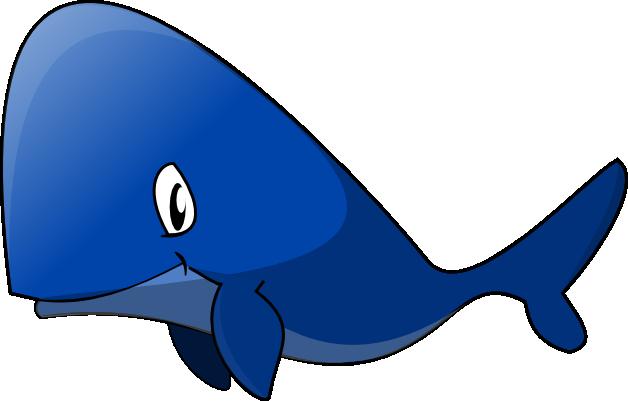 Blue Whale Transparent PNG SVG Clip arts