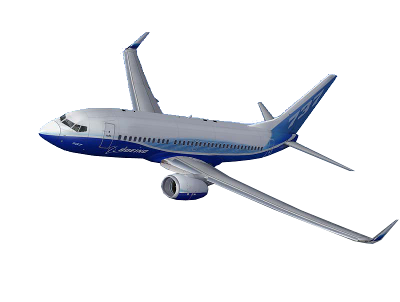 Boeing Transparent Background SVG Clip arts