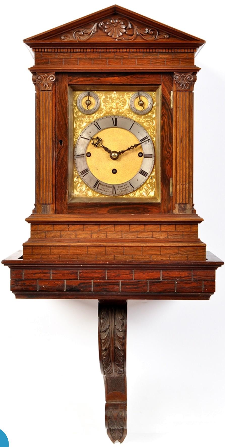 Bracket Clock PNG Free Download SVG Clip arts