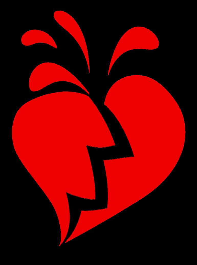 Broken Heart Transparent PNG SVG Clip arts