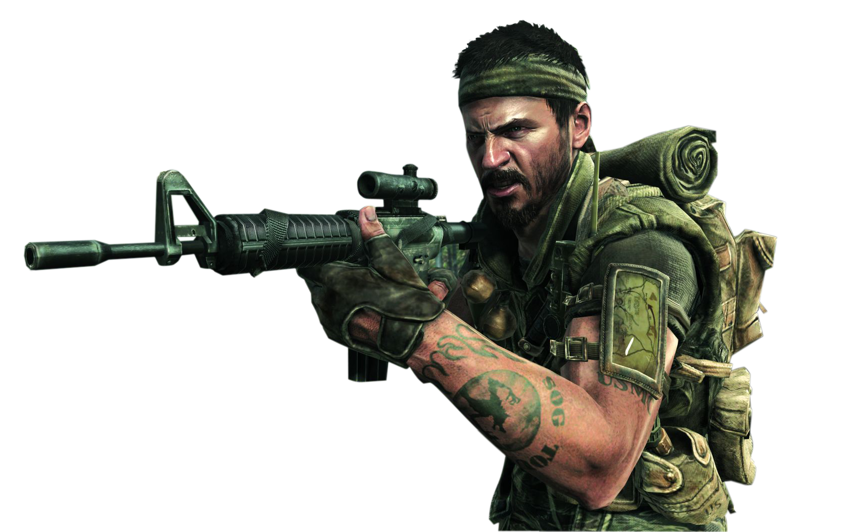 Call of Duty Black Ops PNG Image PNG file