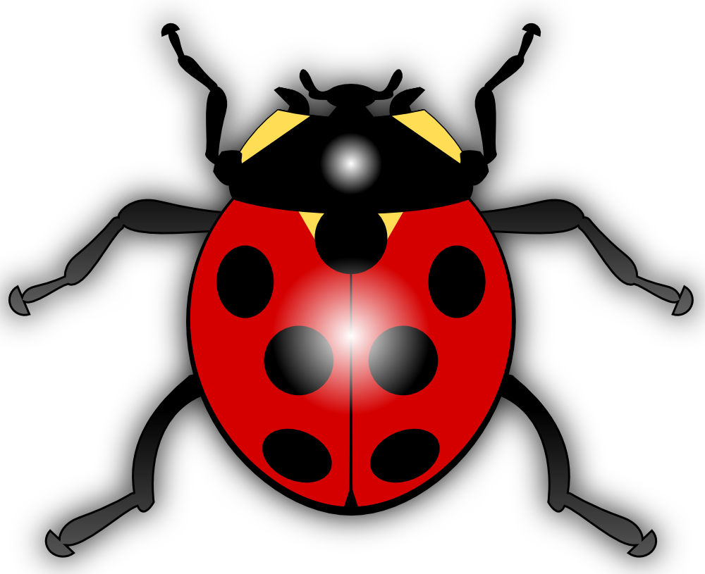 Cartoon Ladybug Clip Art PNG SVG Clip arts