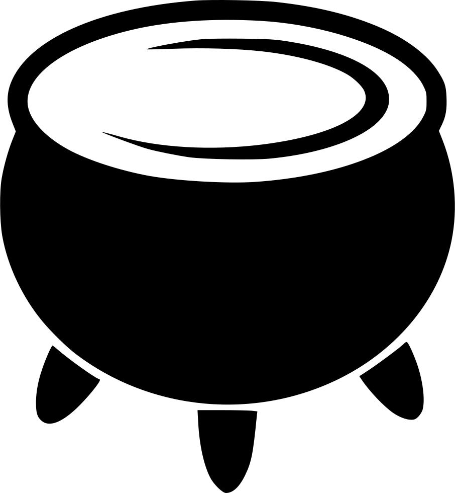 Cauldron Transparent Background SVG Clip arts