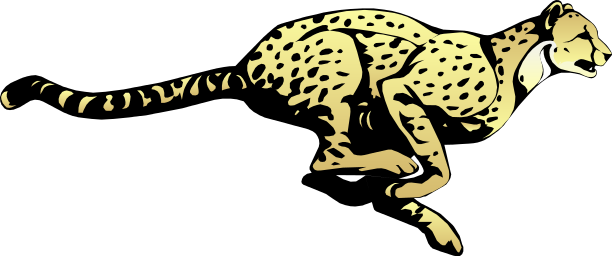 Cheetah PNG Transparent Image SVG Clip arts