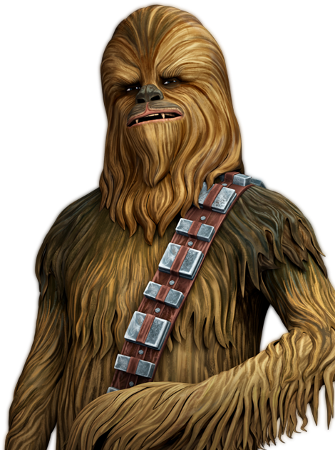 Chewbacca Transparent Background SVG Clip arts