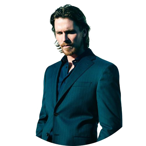 Christian Bale PNG File SVG Clip arts