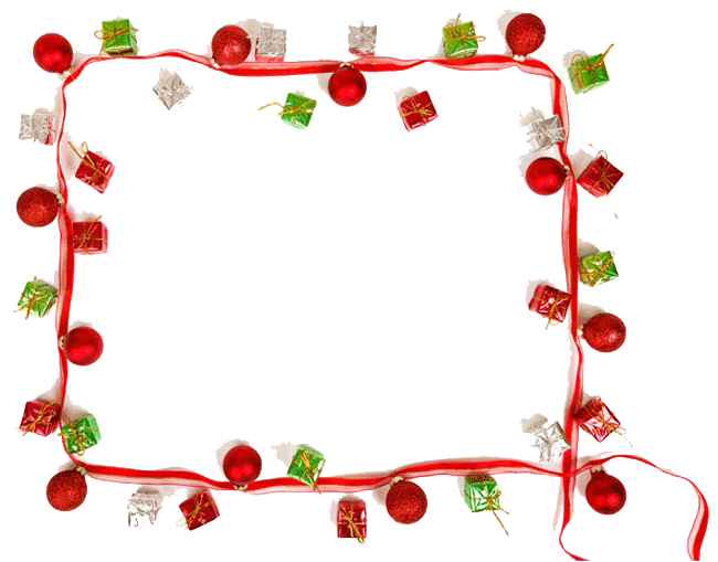 Christmas Border PNG Picture SVG Clip arts