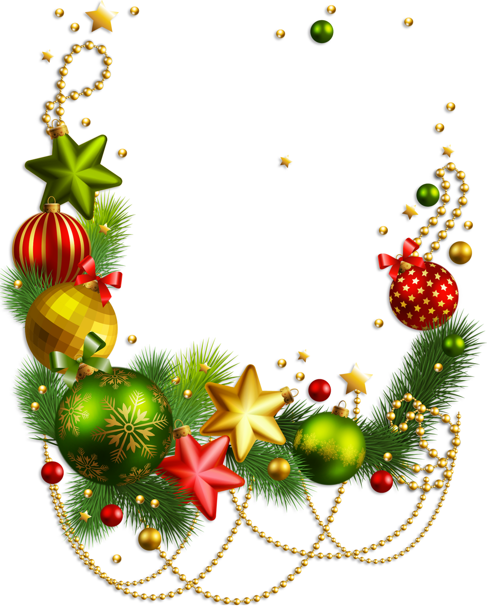 Christmas Ornaments Transparent PNG SVG Clip arts