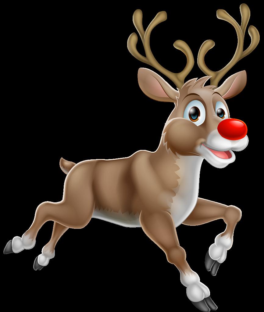 Christmas Reindeer PNG Photos SVG Clip arts