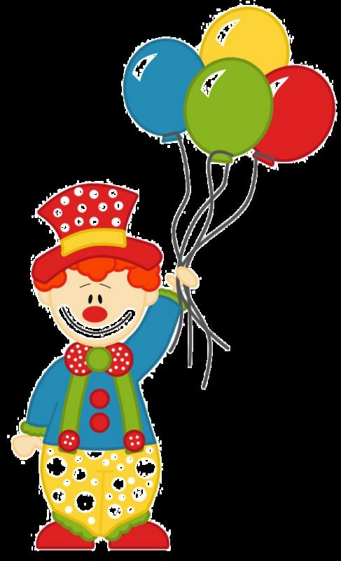 Clown Transparent Background SVG Clip arts