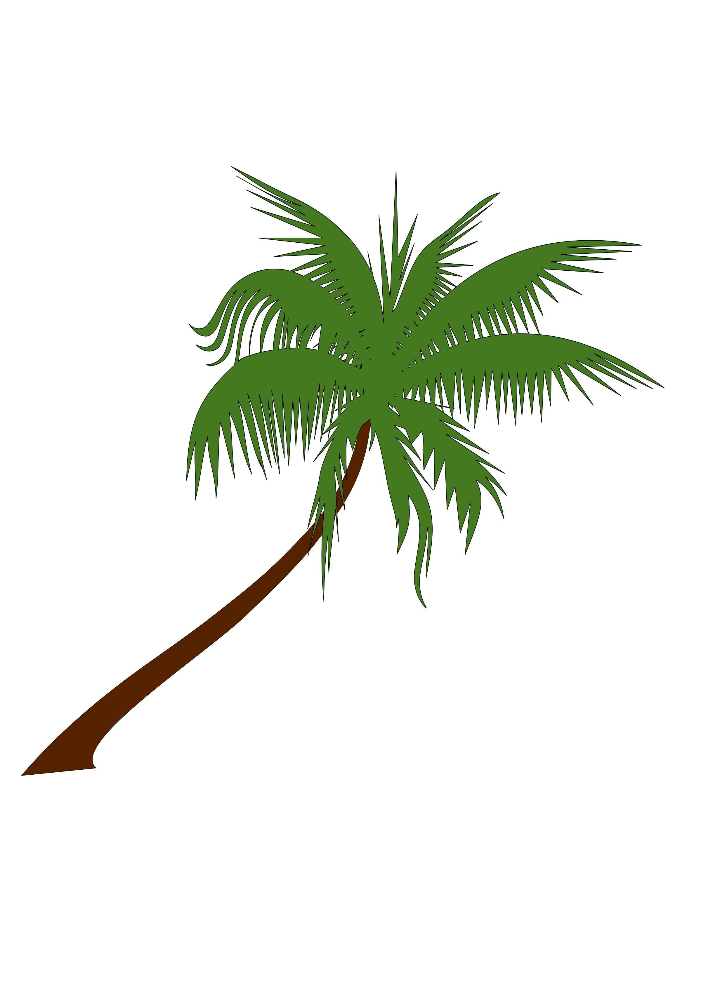 Coconut Tree PNG Free Download SVG Clip arts
