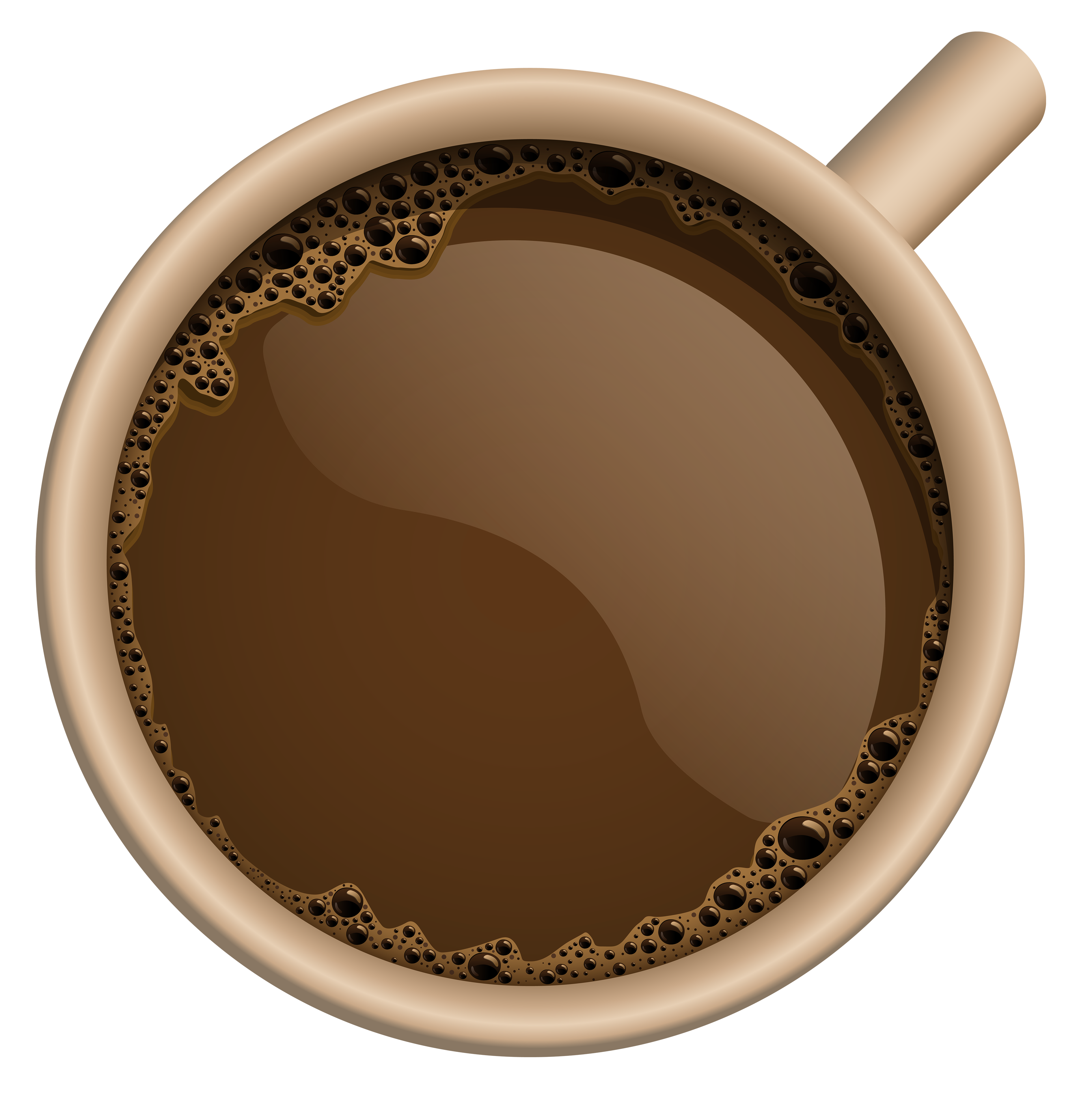 Coffee Mug Top PNG Photos SVG Clip arts