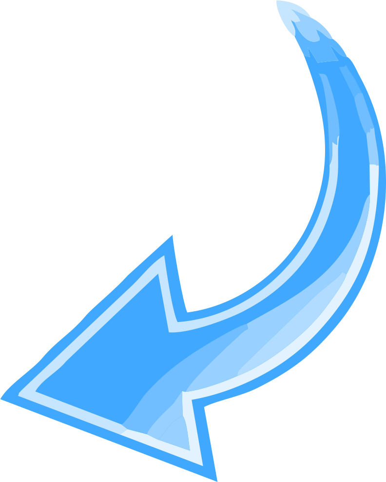 Curved Arrow PNG HD PNG, SVG Clip art for Web - Download ...
