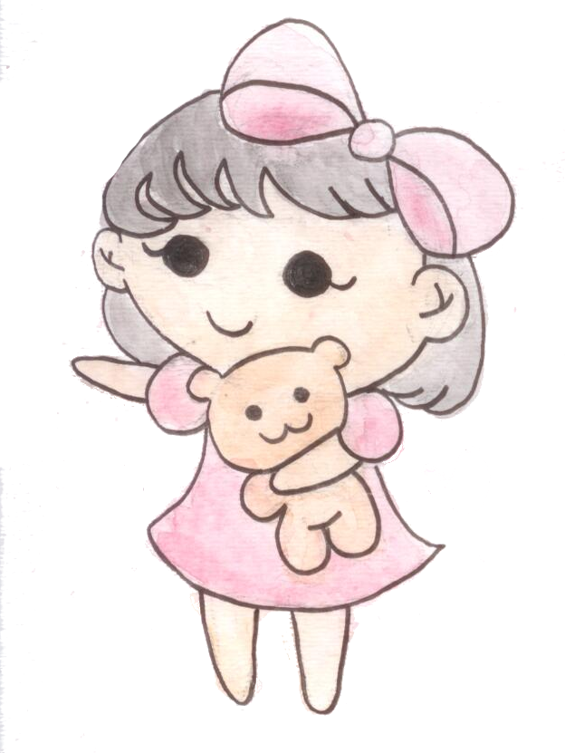 Cute Girl PNG Pic SVG Clip arts