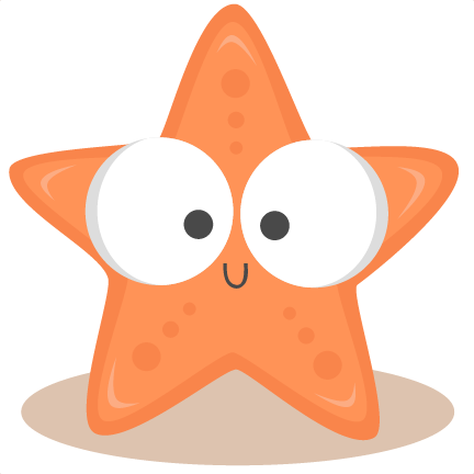 Cute Starfish PNG Photo SVG Clip arts