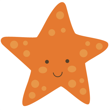 Cute Starfish PNG Picture SVG Clip arts