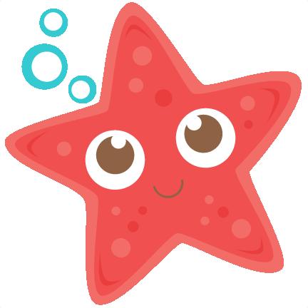 Cute Starfish Transparent Background SVG Clip arts