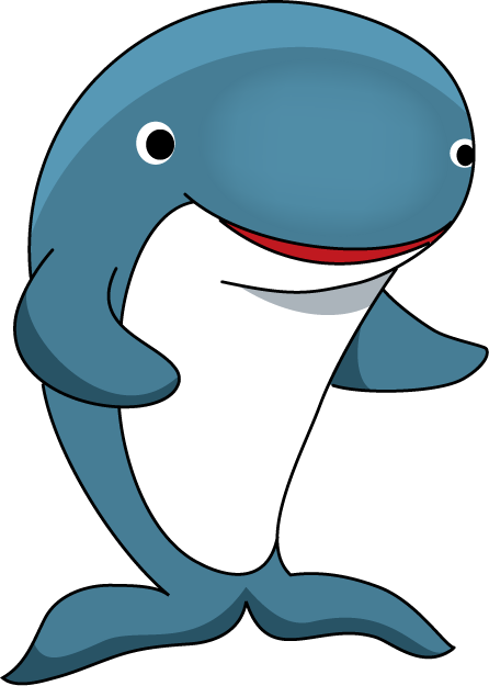 Cute Whale PNG Free Download SVG Clip arts
