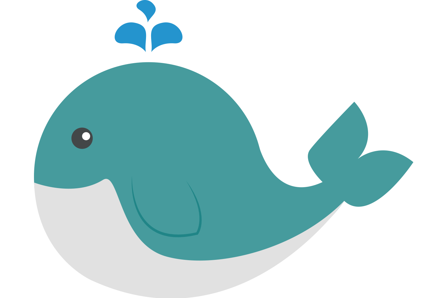 Cute Whale PNG HD SVG Clip arts