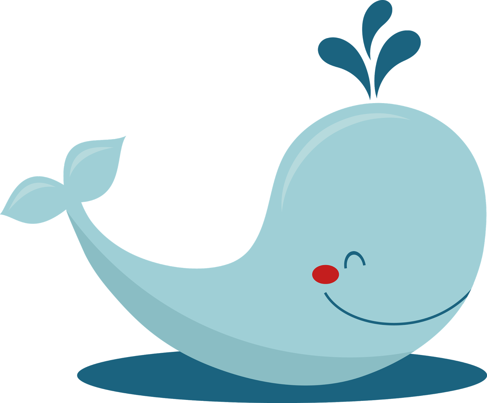 Cute Whale PNG Photo SVG Clip arts