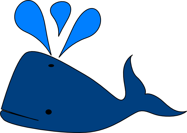 Cute Whale PNG Photos SVG Clip arts