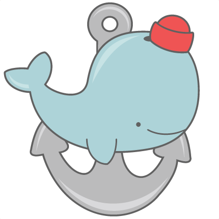 Cute Whale PNG Picture SVG Clip arts