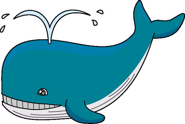 Cute Whale PNG Transparent Image SVG Clip arts