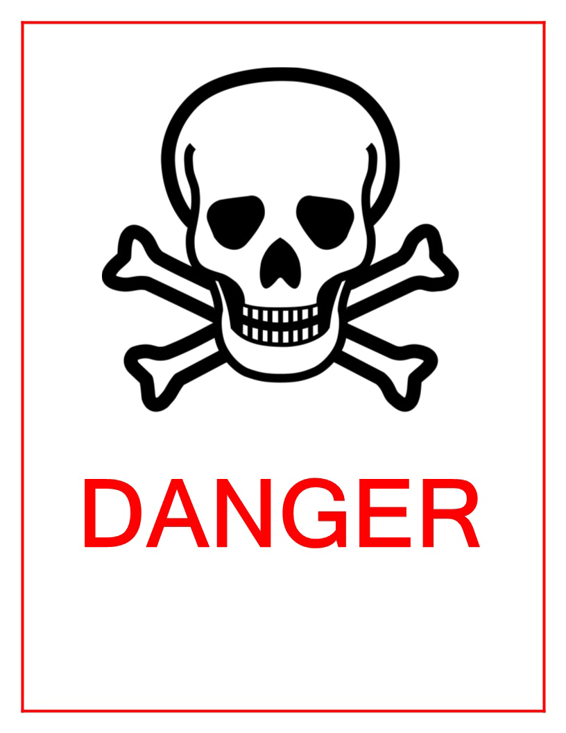 Danger Sign PNG Image SVG Clip arts