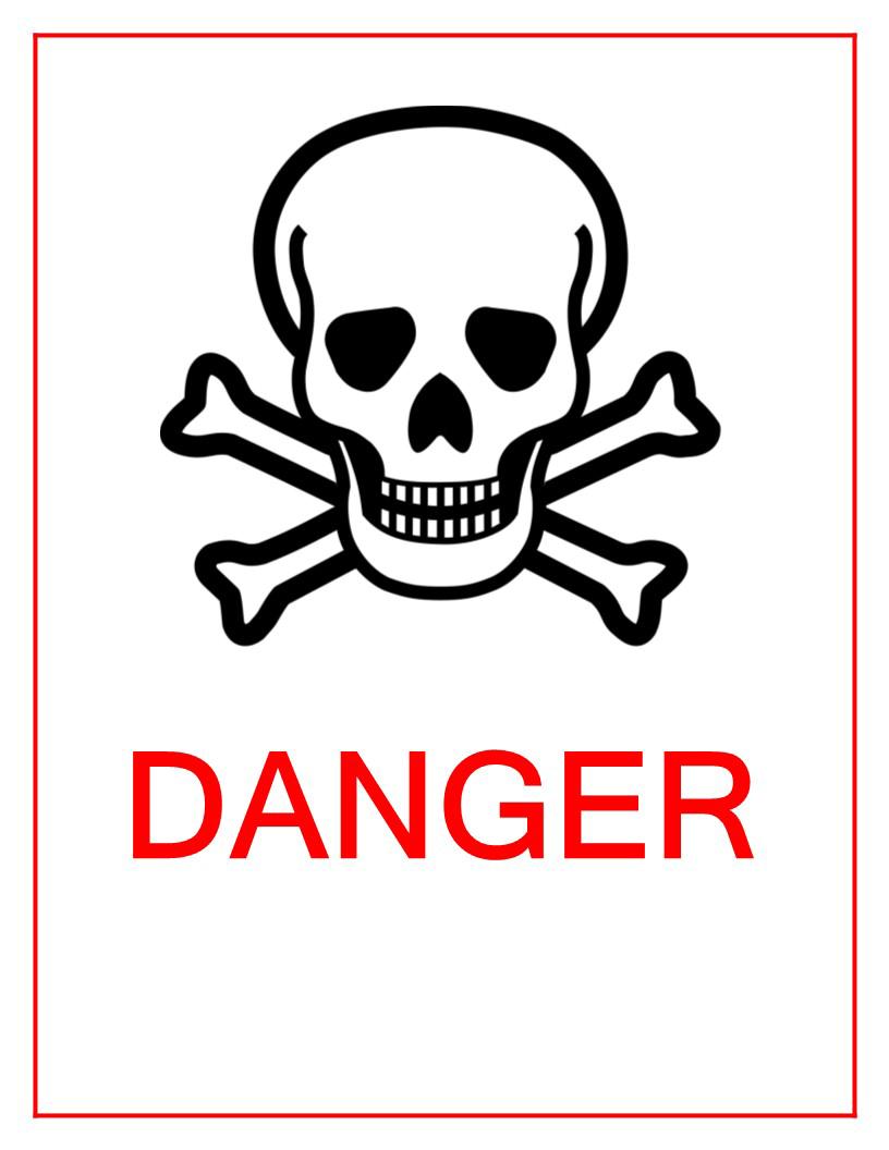 Danger Sign PNG Image PNG file
