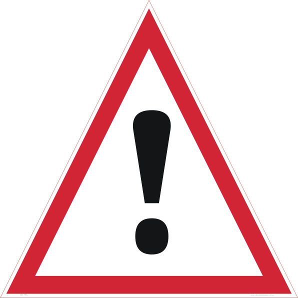 Danger Sign PNG Transparent SVG Clip arts
