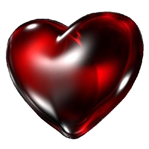 Dark Red Heart PNG Transparent Image SVG Clip arts