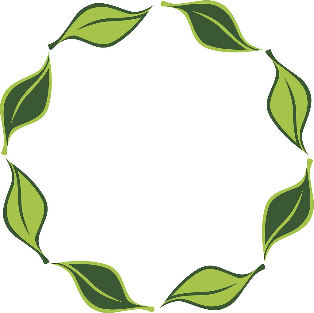 Decorative Leaf Transparent Background SVG Clip arts