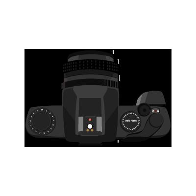 Digital SLR Camera PNG Transparent SVG Clip arts
