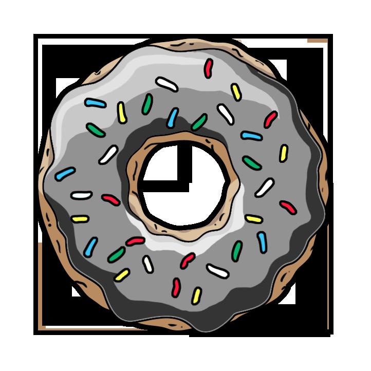 Donut PNG Transparent SVG Clip arts