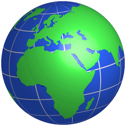 Earth Globe PNG Free Download SVG Clip arts