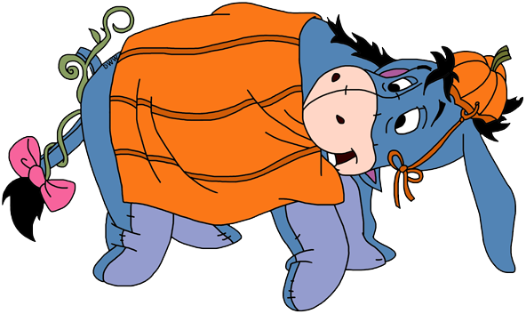 Eeyore PNG Transparent PNG file