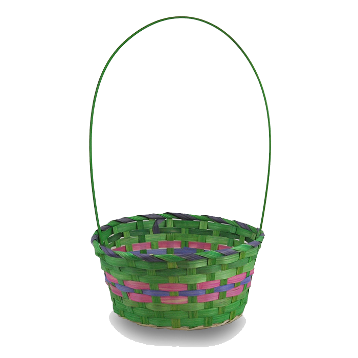 Empty Easter Basket PNG Photos SVG Clip arts