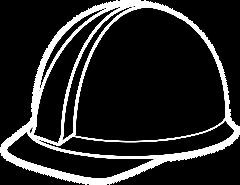 Engineer Helmet Transparent Background SVG Clip arts